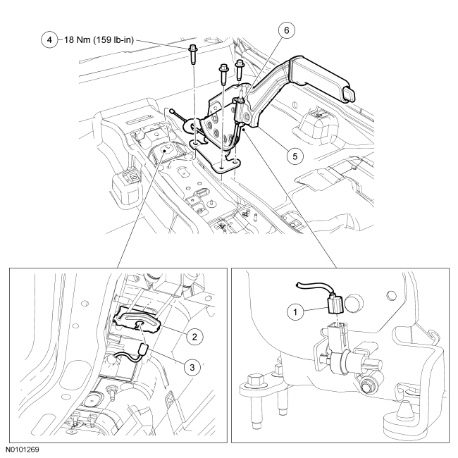 Ford Focus Service Manual :: Parking Brake Control