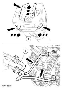 Ford Focus Service Manual :: Transmission Fluid Cooler