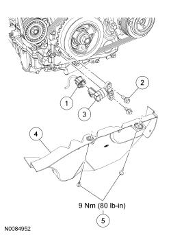 Ford Focus Service Manual :: Crankshaft Position (CKP