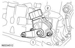 Ford Focus Service Manual :: Transmission Range (TR