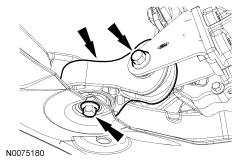 Ford Focus Service Manual :: Transaxle Support Insulator