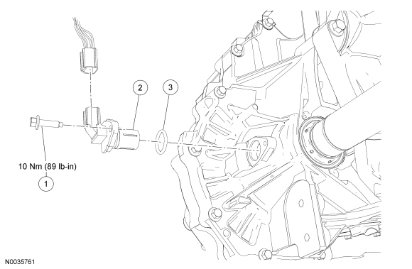 Ford Focus Service Manual :: Output Shaft Speed (OSS