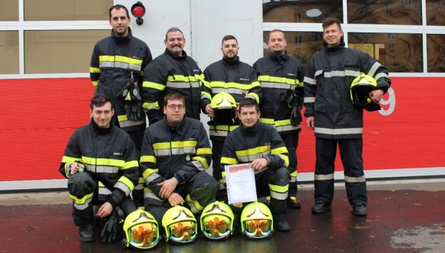 2x Branddienstleistungsprüfung in Silber (BDLP) der FFKP