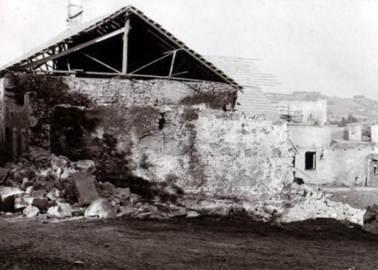 Brand Haus Doberleitner 1963