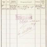 Dokument Vereinslöschung 1939