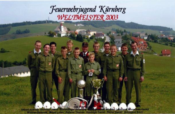 Feuerwehrjugend Weltmeister 2003