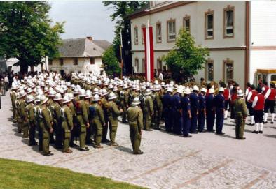 Segnung Tragkraftspritze 1992