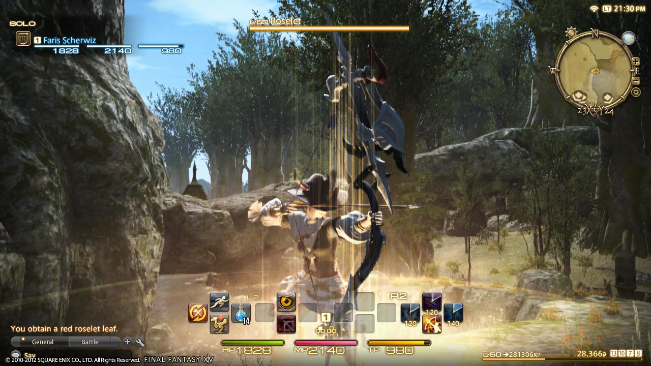 Final Fantasy XIV Comparison Between PS3 And PC Versions