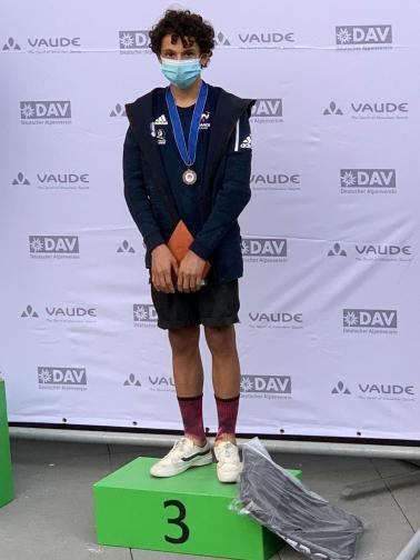 Sam podium AUgsbourg