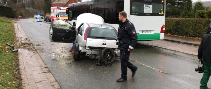 Einsatz: Verkehrsunfall in Nienstedt