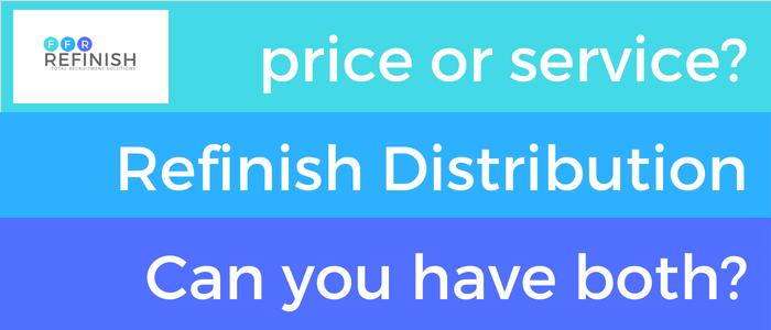 Refinish Distribution - Price or Service?