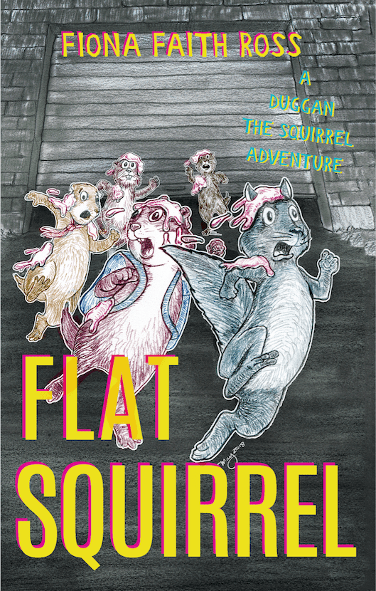 Flat Squirrel Book Cover