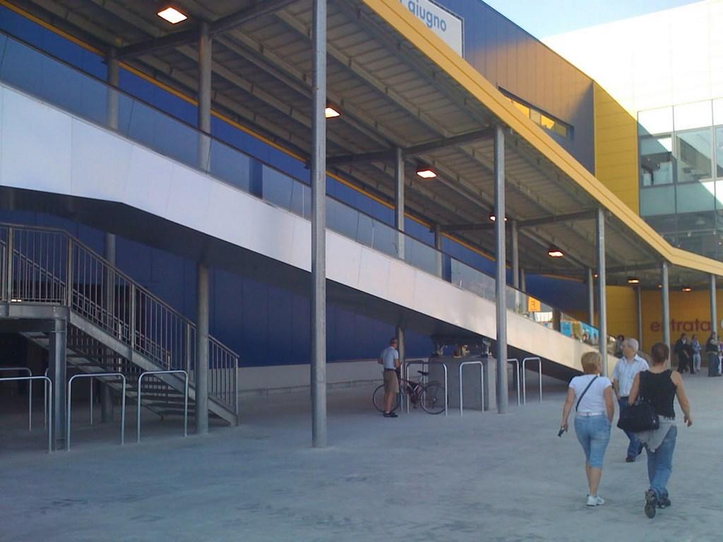 Ikea Torino Carpenteria Metallica Fft