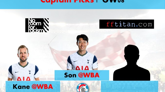 FPL GW08 Captain Picks