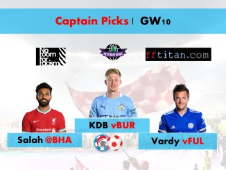 FPL GW10 Captain Picks