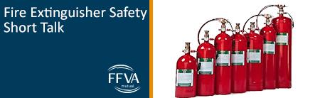 Fire Extinguisher Safety Short Talk