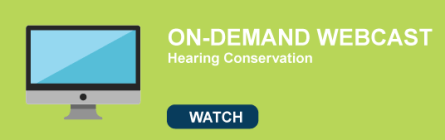 Hearing Conservation Webcast