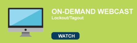 Lockout Tagout Webcast