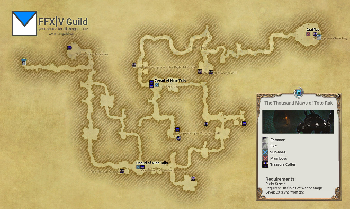 Ffxiv Maps Guide – HD Wallpapers