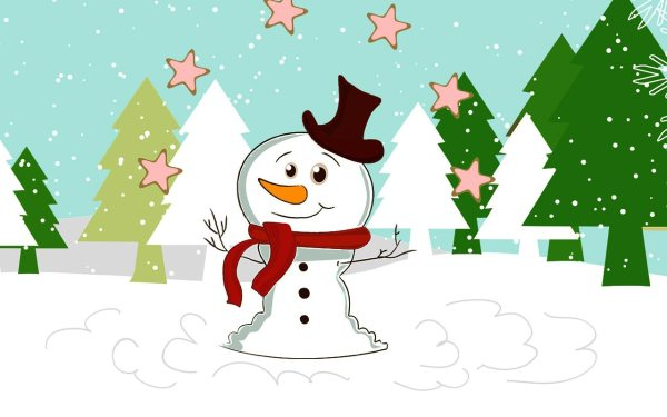 Free Christmas Background - Clipart Backgrounds