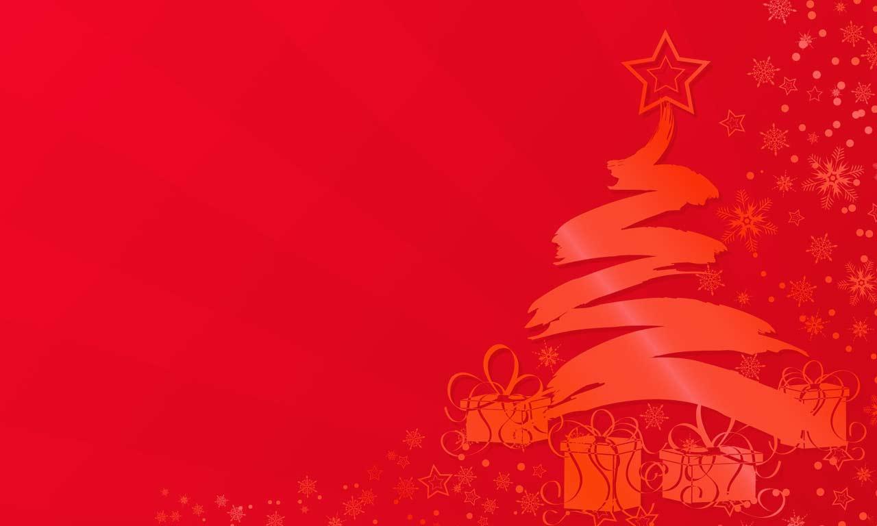 Christmas Tree Background Image