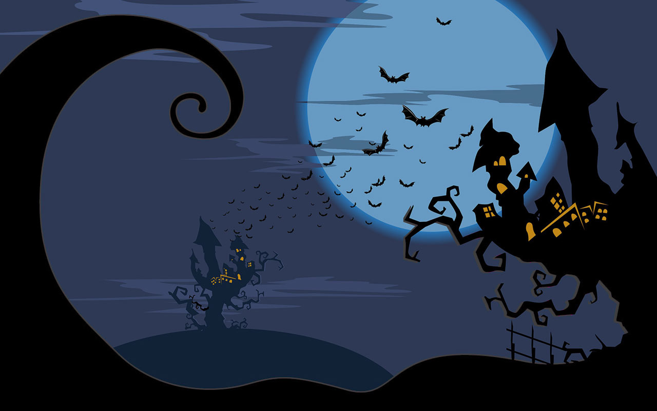 hight resolution of haunted houses
