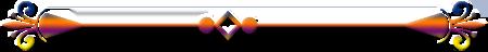 horizontal calligraphic line element