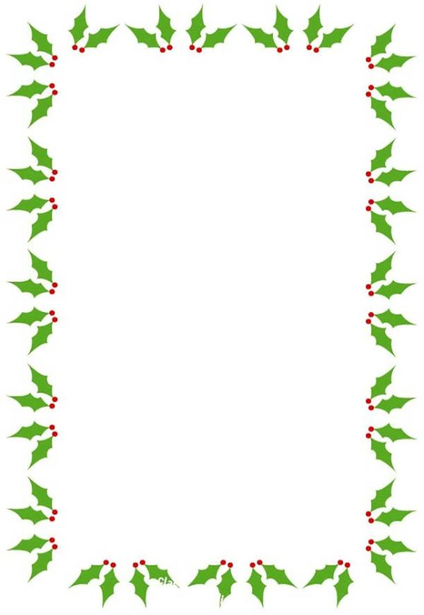 free christmas borders - frames