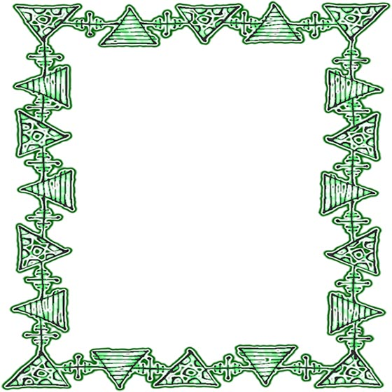 Free Green Borders Green And White Border Clip Art Frames