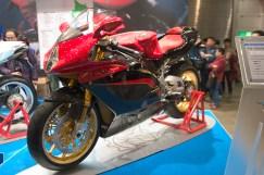 MV Agusta F4 Version Spéciale et magnfique