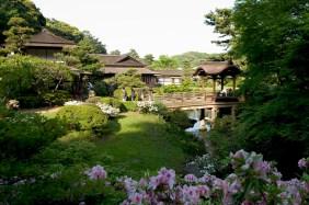 Vue des jardins intérieurs
