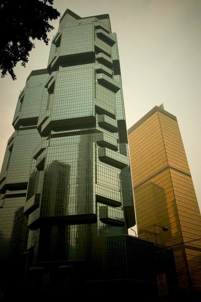 Les tours biscornues de Central Hong Kong