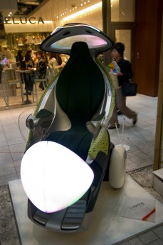 Toyota Personal Mobility - i-Swing, à Tokyo Mid-Town