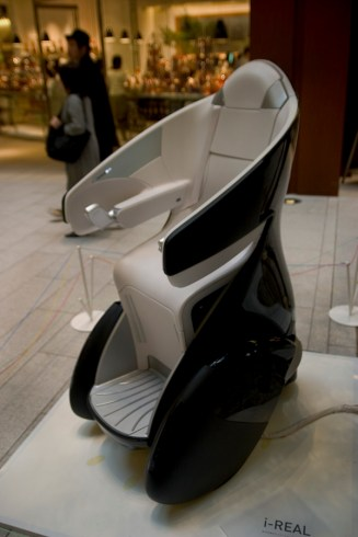 Toyota Personal Mobility - i-Real, à Tokyo Mid-Town
