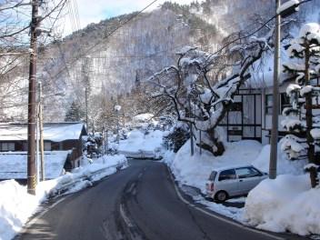 Village de Shirafu, sur les hauteurs de Yonezawa