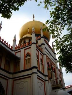 La mosquée dans le quartier arabe de Arab Street