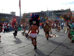 Danse sur la place Zocalo