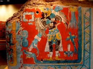 Musée national d'Antropologie, une fresque
