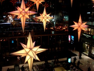 Décorations de Noel au Time Warner Center
