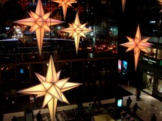 Décorations de Noel au Time Warner Center