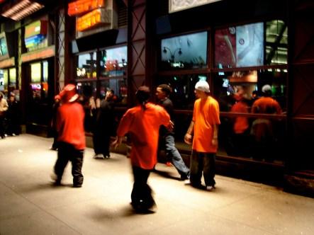 Hip Hop à Times Square