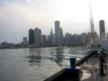 Chicago plonge dans le lac Michigan