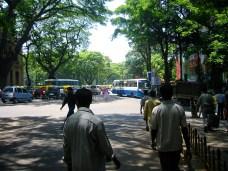Rue et passants