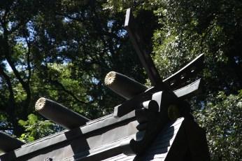 Detail du temple de Takachiko