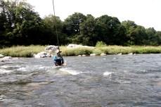 La deuxième rivière la plus poissonneuse du Japon après le fleuve Shimanto de Shikoku.