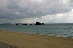 Rochers travaillés par la mer