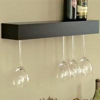 F.G. Bradley's :: Wine and Glass Racks :: Wall Shelf Glass ...