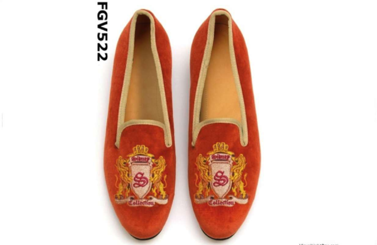 velvet loafers christmas collection