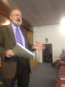 Dewey Preaching