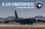 La visita del Bombardero Boeing B-52H en Chile